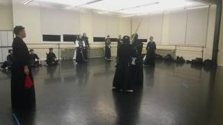 2017 Japanese Navy vs SDKB Kendo Team Shiai: Match 5