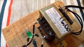 fonte caseira - com transformador de 12volts
