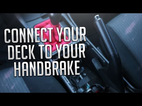 Connect Your Stereo To Your Parking Brake!