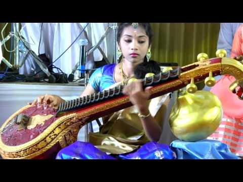 'Engaeyum Eppothum ' -Tamil cine song composed by Poornima murugesan , A Veena Artist