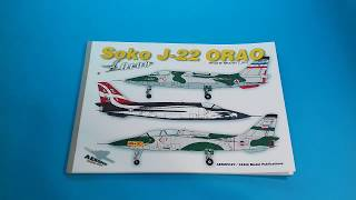 SOKO J-22 ORAO book, page flipping preview