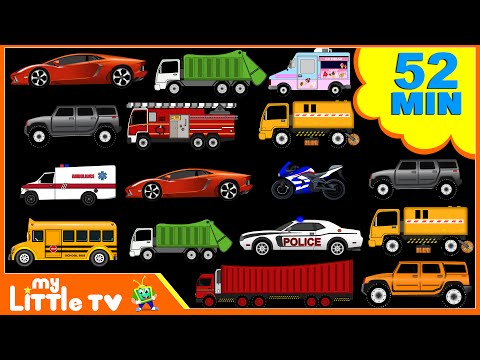 Street Vehicles | Car Wash Videos | Nursery Rhymes Plus Lots