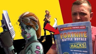 USING A FORTNITE HACKS BOOK TO WIN GAMES! OPEN LOBBIES