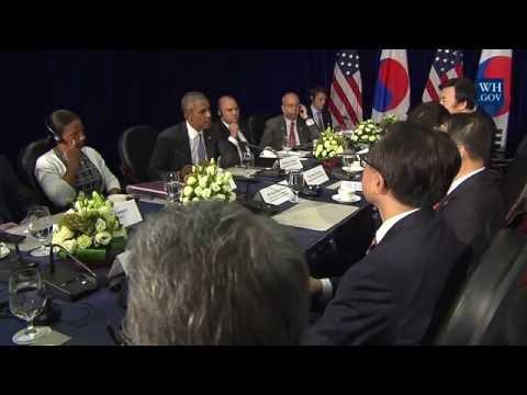 President Obama and President Park