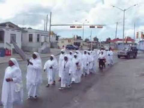 Spiritual Baptist, Good Friday Procession in Bim