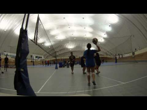 vs. Donald Bump blocks girls and hits recklessly - Set 2