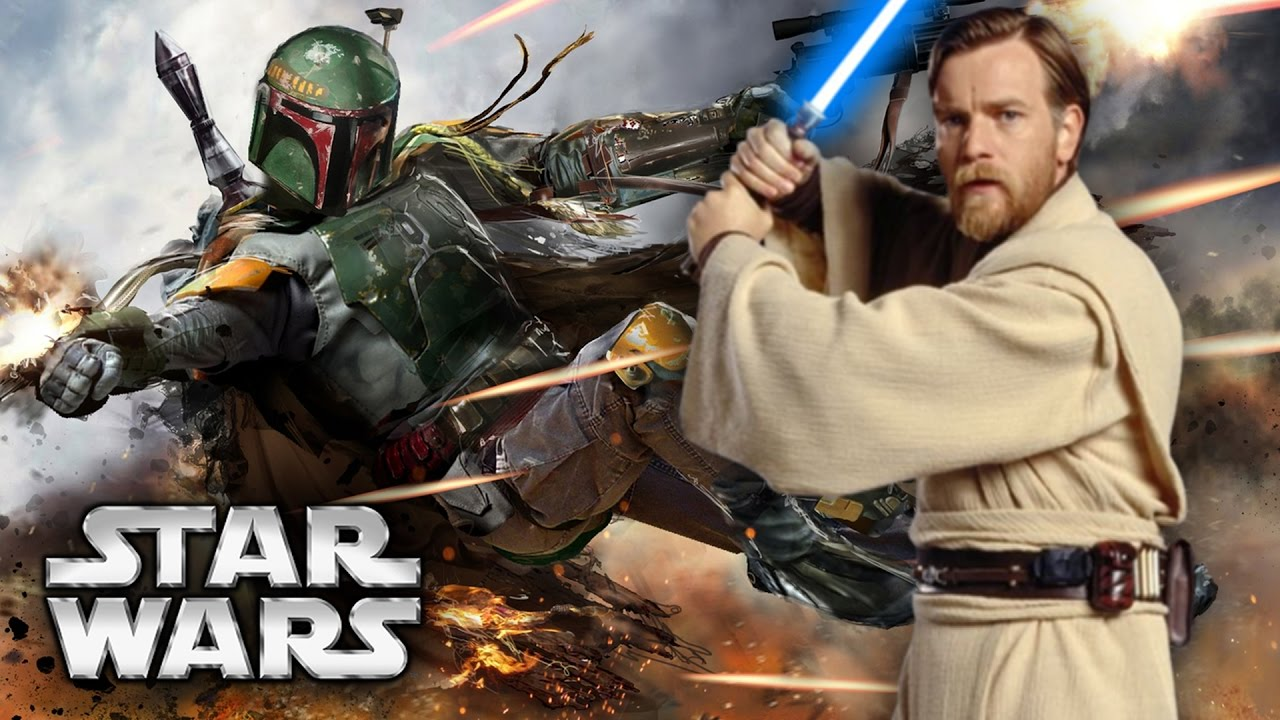Image result for obi wan movie and boba fett movie