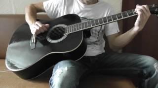 Mylene Farmer   Pourvu qu'elles soient douces   acoustic guitar cover   chords   аккорды