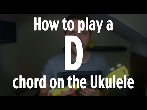 How to play a D chord on the Ukulele | by iamJohnBarker
