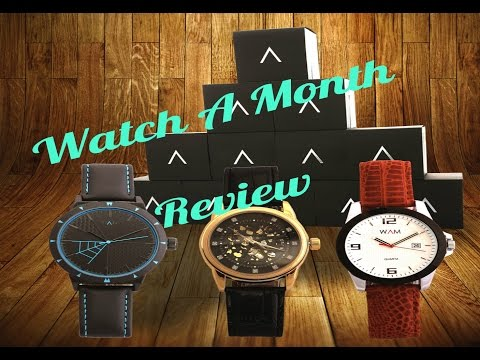 Watch A Month Review - Monthly Subscription Box