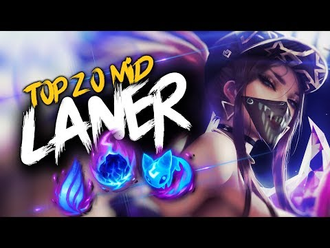Top 20 MID LANER Plays #23 | League Of Legends thumbnail