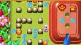 Bomberman Max 2 playthrough Blue Advance pt1