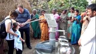 POZZO in INDIA donato dai benefattori di OASI MAMMA DELL'AMORE
