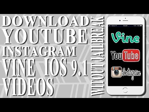 Download Video On iOS 9 - 9.1 / 9.2 To Cam Roll NO Jailbreak
