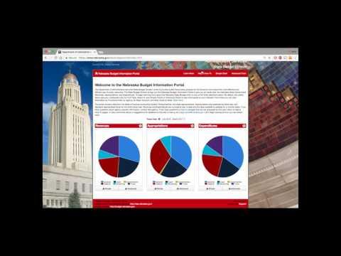 Nebraska Budget Information Portal