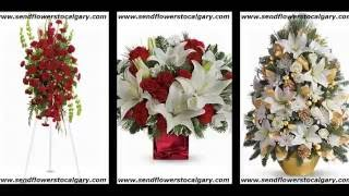 send flowers from United States to Calgary Canada