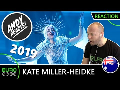 AUSTRALIA EUROVISION 2019 REACTION: Kate Miller-Heidke - 'Zero Gravity' | ANDY REACTS!
