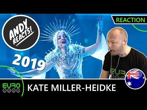 AUSTRALIA EUROVISION 2019 REACTION: Kate Miller-Heidke - 'Zero Gravity' | ANDY REACTS! Mp3