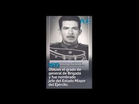 José Efraín Ríos Montt, su carrera militar y política | Prensa Libre