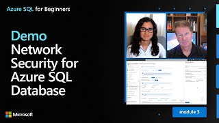 Demo: Network Security for Azure SQL Database | Azure SQL for beginners (Ep. 23)