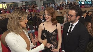 Emma Stone's Brother Reveals Her Guilty Pleasure at the SAG Awards