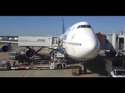 Lufthansa LH711 Tokyo Narita to Frankfurt *Full Flight*