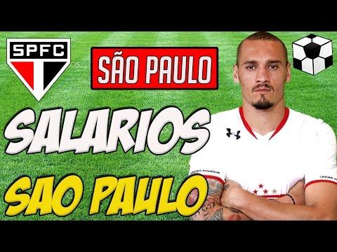 Os Salários dos Jogadores do São Paulo 2017 - SPFC