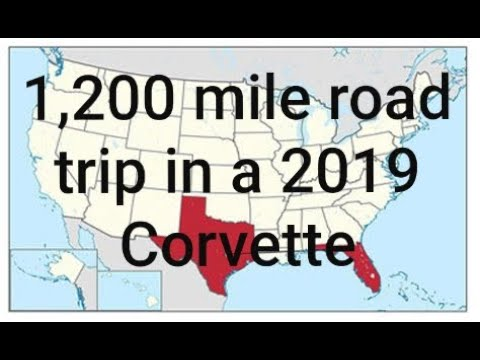 Corvette Grand Sport (, mile road trip)