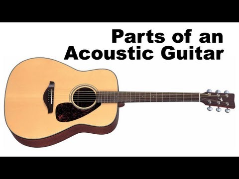 parts of an acoustic guitar tutorial for beginners guitar lesson youtube. Black Bedroom Furniture Sets. Home Design Ideas