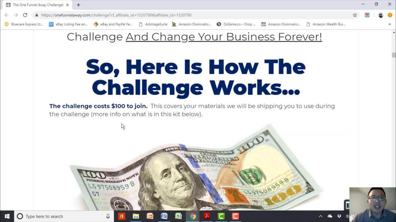 ClickFunnels One Funnel Away Challenge Day 1 (February 2019)