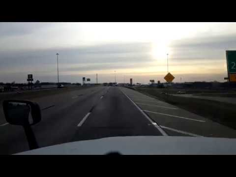 BigRigTravels LIVE! Tulsa to Oklahoma City, Oklahoma Interstate 44 West-Jan. 6, 2018