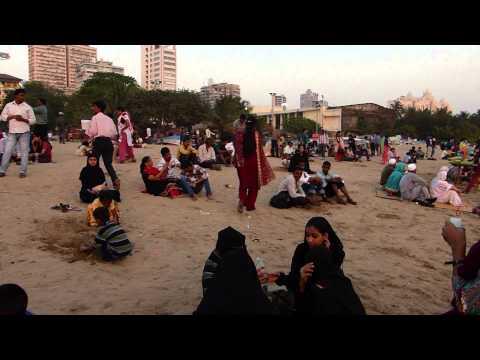 Inde 2013 - Mumbai - Chowpatty beach 2
