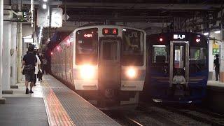 【JR東】篠ノ井線 普通甲府行 長野 Japan Nagano JR Shinonoi Line Trains