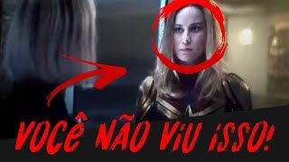 VOCÊ NÃO PERCEBEU ISSO NO PÓS CREDITO DE CAPITÃ MARVEL!