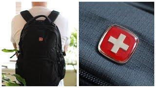 Черный рюкзак Wenger Nur Gut обзор / Швейцарский городской рюкзак венгер купить