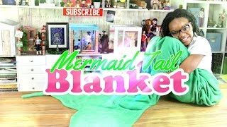 DIY - The Frog Vlog: How to Make: Doll Mermaid Tail Blanket - Handmade - Crafts - 4K