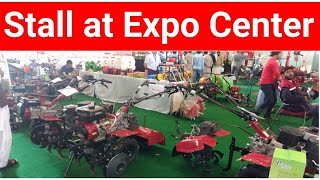 Agro Power Stall at Agriculture Machinery Exhibition 2018.