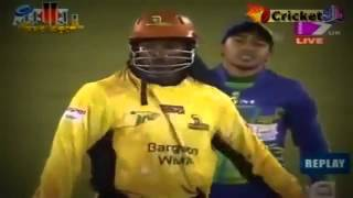 Chris gayle's Fastest IPL 100 run 30 Balls Video by 23 04 2013