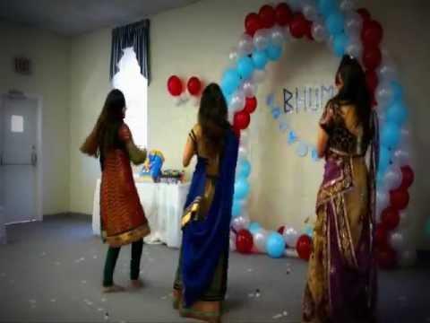 Bhumi Baby Shower 2012 Sola Singar Karke...