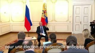 """Poutine dénonce """"un coup d"""