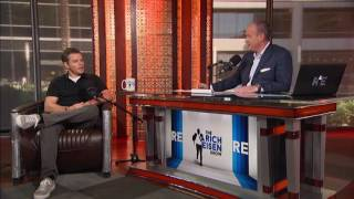 Actor Matt Damon Comments on Tom Brady's Suspension - 7/26/16