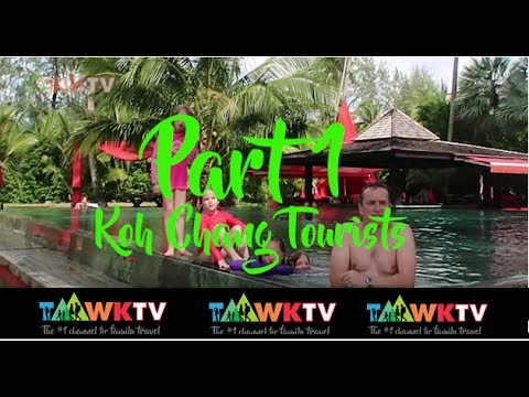 Ep7 PART 1: THAILAND: Koh Chang Tourists: Family Travel: Travelling with kids: TaawkTV