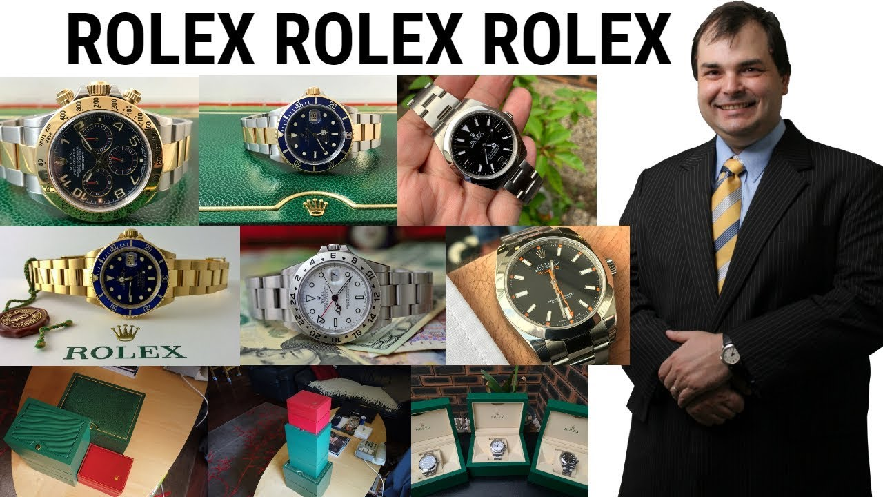 8aa57504886 YOUTUBE GURUS - How many Rolex wrist watches do they own   - YouTube