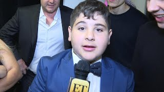 Watch David Dobrik's 'Little Brother' Vardon Drop the Mic on Haters Backstage at the Streamys! Video