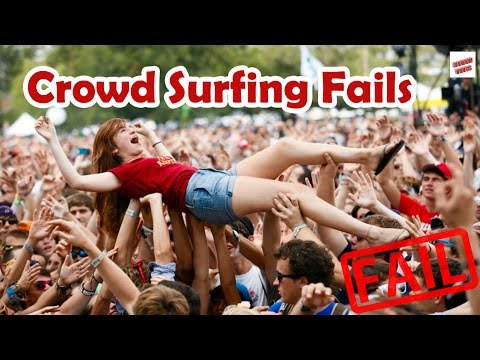 Crowd Surfing Fails Compilation thumbnail