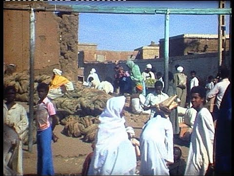 Traveling in old typical Sudan in 1977