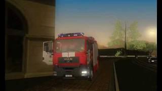 Рижская Пожарная Машина MAN TGL Для GTA San Andreas