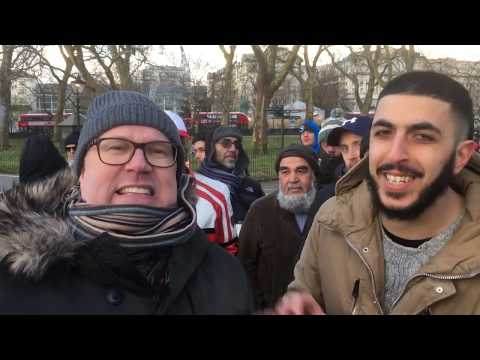Supporting Racism? Ali Vs Atheist (Steve)   Speakers Corner   Hyde Park