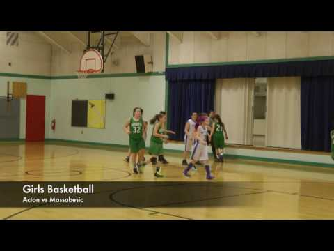 Acton School - Girls  Basketball - 12-20-2016