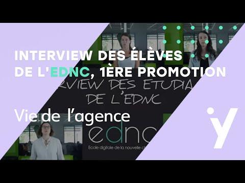 Interviews des élèves de l'EDNC - 1ère promotion